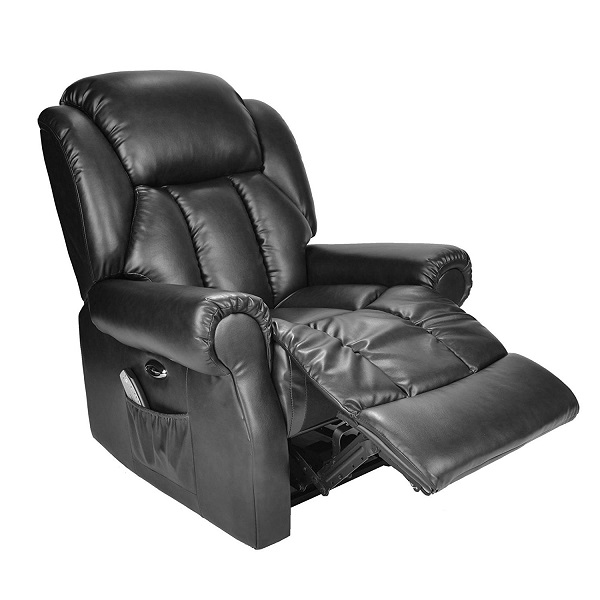 Hainworth Leather Electric Recliner Chair Review