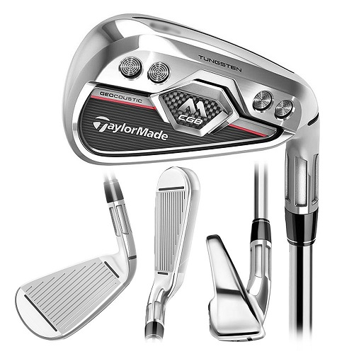 TaylorMade M CGB Irons (Graphite Shaft) Mens RH 5-SW (7 Irons) Senior UST Mamiya Recoil 460
